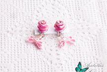 Orecchini dedicati alle amanti del colore rosa