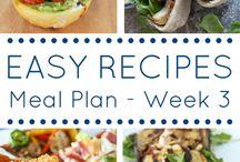 Meal Plans / by Malissa Schlieman