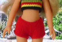 letní pletení.. panenky