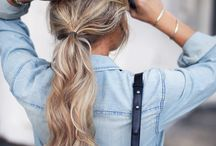 Hairstyles & Healthy Hair Tips