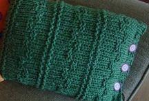 pillows knitting