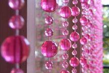 üveggyöngy függöny