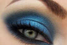 Blue Smokey Eye make Up Ideas / by Amber Angel