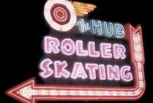 roller rink signs