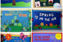 April School Bulletin Boards, Decor, and Activities