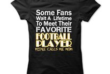 T-shirts for Football and Soccer moms / t-shirts for soccer and football moms sports