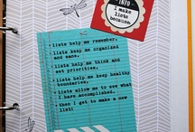 {Lists - 30 days of lists} / Cuz, what is life without a list!