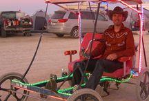 Burning Man Lights