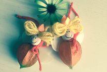 Fatine fai da te nascono dai fiori di alkekengi / Fatine fai da te nascono dai fiori di alkekengi.  Idea creativa per giocare con la fantasia.  #alkekengi #fate #fairy #diycrafts #fantasy #mycandycountry  Seguimi su: www.mycandycountry.it