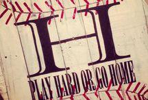 baseball / by Jill Hightower-Mcclung