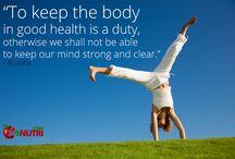 Health / Healthy way of Life