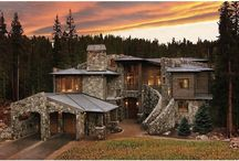 domki w górach, w lesie
