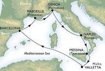 Plavby lodi MSC Meraviglia