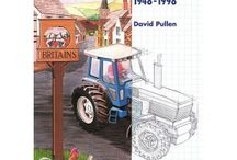 Models / Books on model tractors, all available from www.oldpond.com.