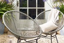 Gorgeous Garden Furniture / Weather you like to sunbathe, relax or dine in your garden the right furniture can transform your outside space into any environment you wish. Have a look through our board for some fantastic ideas that you can apply to your garden.