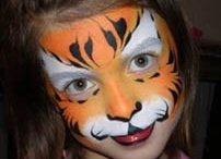 "Face Painting - Animal Masks / Ideas for face painting - animal masks for boys and girls. / by Liza Fewell ""LizaBean Designs"""