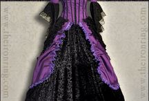 Purple can be so Gothic! / Purple and black fashion