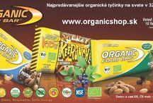 Organic Food BAR 100% RAW&BIO / 100% RAW Energeticko proteinové tyčinky v BIO kvalite