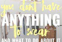 Idées dans la garde-robe