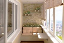 Small Balcony / Who sais beauty doesn't fit in these small spaces?
