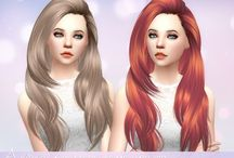 The sims 4 CC Hair