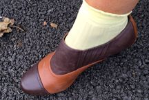 Bold Shoes with a Retro Flair / Vintage inspired shoes loved by vintage fashionistas.