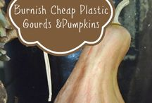 how to burnished gourds