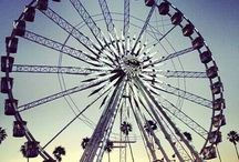 theme park and carnival rides