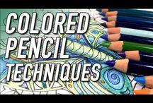 Pencil techniques