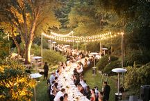 O u t d o o r s / Inspiration for an outdoor ceremony or reception under the stars