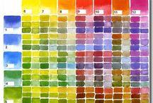 Nuancier de couleurs, Mix colours