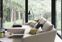 Sofa in interior