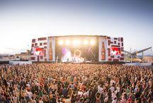 Conciertos, Festivales y Competiciones Deportivas / Servicios de diseño, montaje y alquiler de material audiovisual para todo tipo de eventos outdoor: conciertos, festivales, competiciones deportivas...