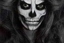 skelett make up