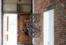 自転車の収納