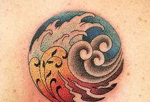 4 elements tattoo