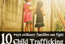 Fighting Human Trafficking / Join us in the fight against human trafficking - no more human trafficking!