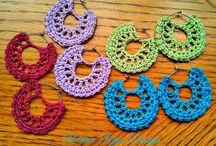 Crochet zarcillos