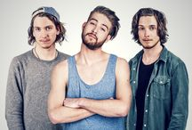 """The MakeMakes   Austria Eurovision 2015 / The Makemakes are an Austrian pop rock band, comprising Dominic """"Dodo"""" Muhrer, Markus Christ and Florian Meindl (born 7 August 1990). They represented Austria in the Eurovision Song Contest 2015 with the song """"I Am Yours""""."""