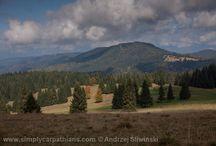 Polana Mountains / The biggest extinct volcano in Europe. Slovakia.