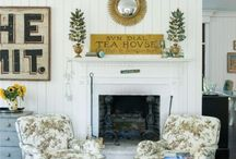 Art-Antique Signage / Antique Signs / by Cindy Hattersley Design/Rough Luxe Lifestyle Blog