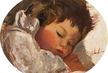Favorite Baby Paintings / Here are some of my favorite baby/child paintings I have found / by Lil' Baby Cakes