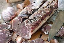 ветчина колбасы окорок