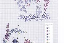 wzory haftu krzyżykowego