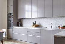 light grey kitchen