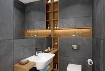 Toalety i łazienki