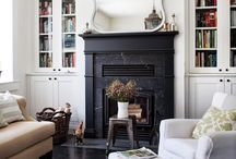 fireplace mantles / by Minon Frye