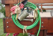 Things 2 DO with OLD HOSES / by Erica Haack