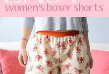 womans boxer shorts