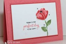 stampin up: Bunch of Blossoms
